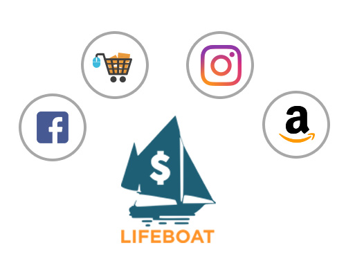 Lifeboat empowers you to extend your online reach in sales